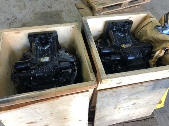 2x Caterpillar 299-5895 Motor Group Travel